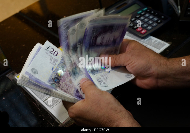 Money Exchange Heathrow Airport Terminal Stock Photos