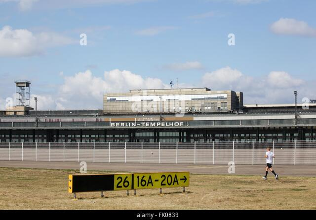 tempelhof airport stock photos tempelhof airport stock images alamy. Black Bedroom Furniture Sets. Home Design Ideas
