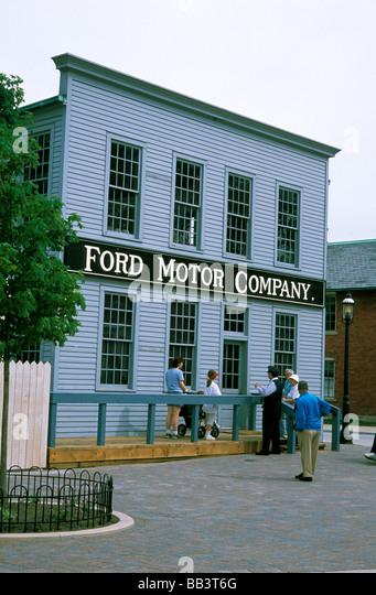 Ford motor company usa stock photos ford motor company for 20th century motor company