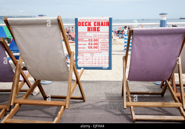 Deck Chair Hire Stock Photos Amp Deck Chair Hire Stock