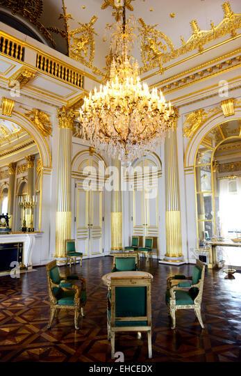 Beautiful Interior Halls Rooms Royal Stock Photos