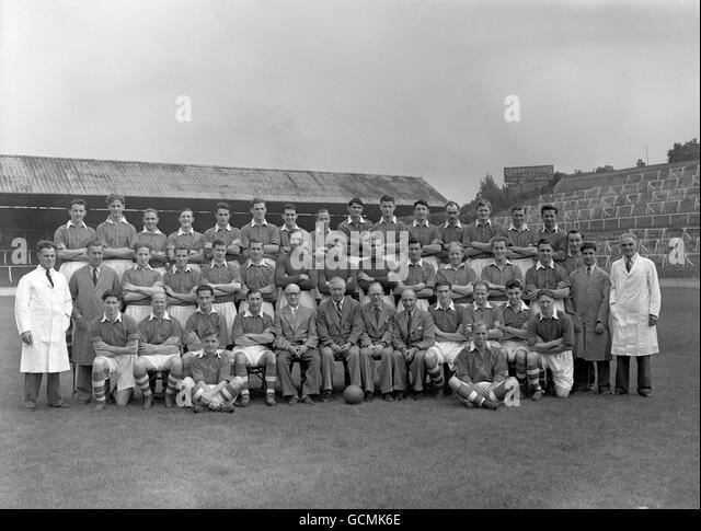 Charlton Athletic Team Group Stock Photos & Charlton