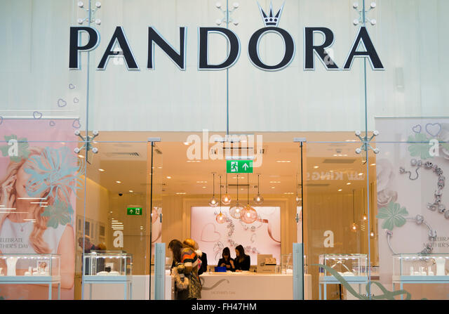 boutique pandora barcelone