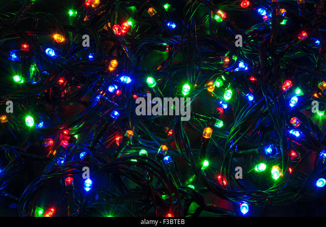 String Of Lights Blue Stock Photos & String Of Lights Blue Stock Images - Alamy