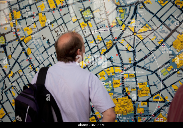 Maps Update 21051488 Tourist Map of Central London London – Map of Central London Areas