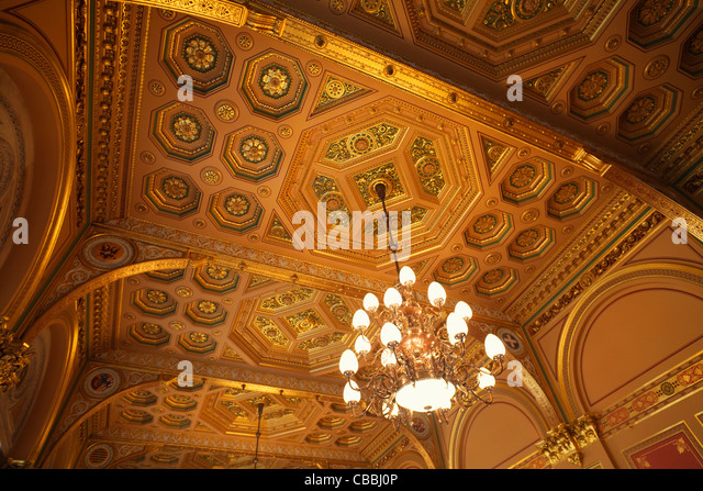 England, London, Whitehall, Interior Of The Foreign Office   Stock Image