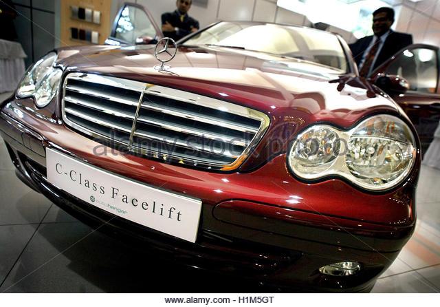Mercedes benz ad stock photos mercedes benz ad stock for Mercedes benz daimler chrysler