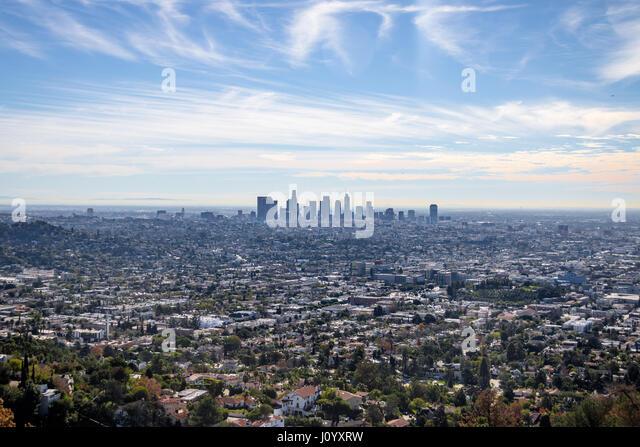 los angeles skyline view - photo #34