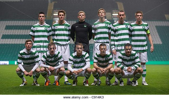 Celtic Fc Team Stock Photos Images Alamy Glasgow Scotland Monday