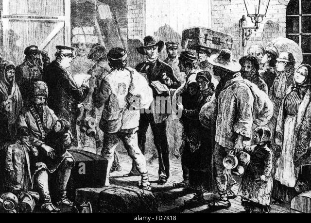 immigration of the irish to the united states in 19th and 20th century During the late 19th century and early 20th century, many of the immigrants were from ireland, italy, poland and sweden some of these immigrants were dislocated jews, and some had arrived even earlier from china these people came to the united states with the goal of attaining a better and more .