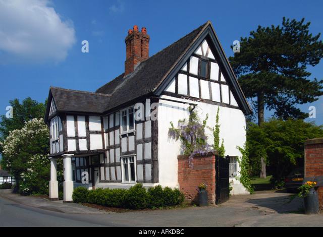 Tudor Timber Framed House Church Minshull Cheshire UK Europe