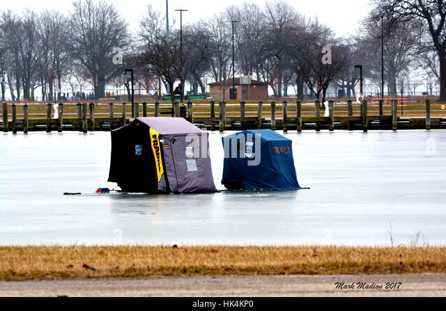 Lake st clair stock photos lake st clair stock images for Ice fishing lake st clair