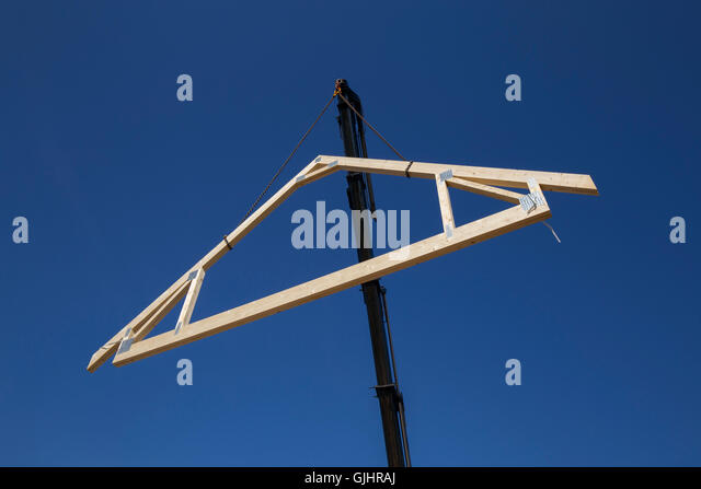 Roof Truss Stock Photos Amp Roof Truss Stock Images Alamy