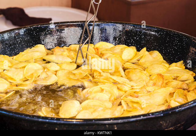 how to cook chips in frying pan