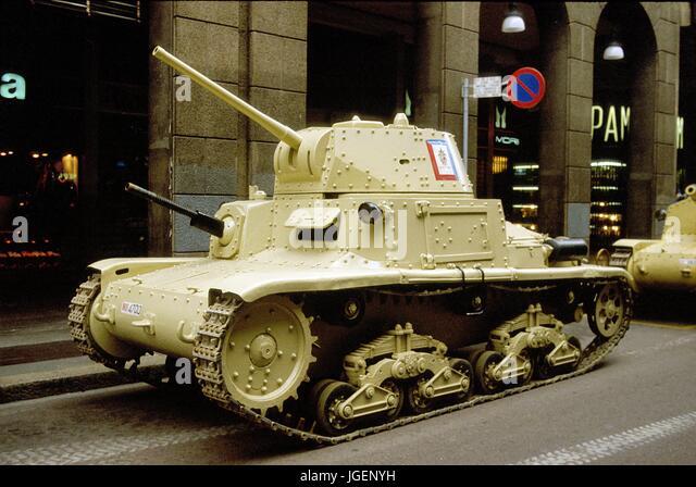 Italian army world war ii stock photos italian army world war ii italian army fiat ansaldo m1340 tank of world war ii stock sciox Images