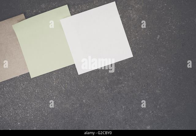 Blank Post It Notes Stock Photos & Blank Post It Notes Stock