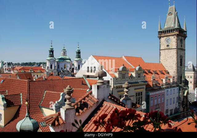Prague hotel old town stock photos prague hotel old town for Terrace u prince prague