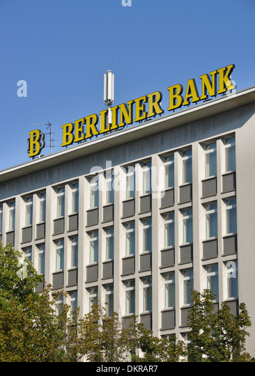Berliner Platz 2 L Sungen berliner bank stock photos berliner bank stock images alamy