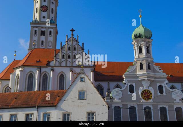 st ulrich church stock photos st ulrich church stock. Black Bedroom Furniture Sets. Home Design Ideas