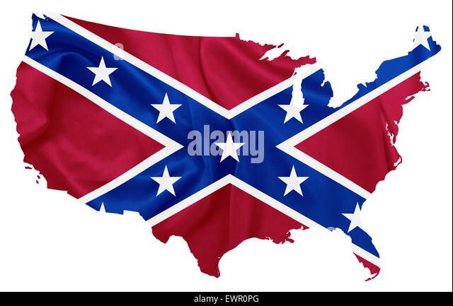 U S Confederate Flag Stock Photos U S Confederate Flag Stock - The confederate map of the us