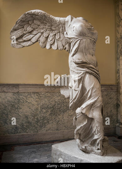 Winged Victory (Nike of Samothrace) statue, Idaho State Capitol, Boise,  Idaho