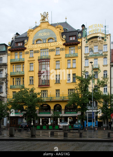 Bendelmayer stock photos bendelmayer stock images alamy for Hotel europa prague