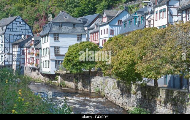 Monschau stock photos monschau stock images alamy for Eifel germany hotels