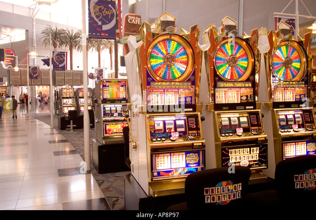 slot machines vegas airport