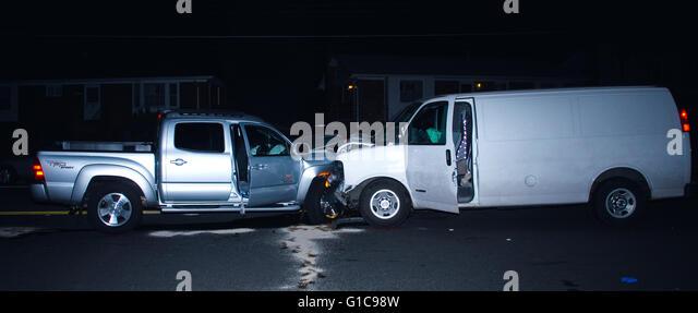 Fairfax County Police Car Accident