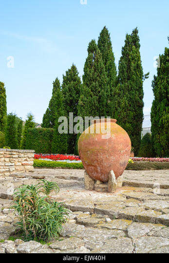 Scenic Queen Mary Garden Stock Photos  Queen Mary Garden Stock Images  With Inspiring Old Big Clay Pots At Balchik Botanical Garden Bulgaria  Stock Image With Cool Garden Sleepers For Sale Also Garden Ferns In Addition Garden Walls And Railings And Metal Garden Pergola As Well As Ashdown Forest Garden Centre Additionally Garden Sheds Belfast From Alamycom With   Inspiring Queen Mary Garden Stock Photos  Queen Mary Garden Stock Images  With Cool Old Big Clay Pots At Balchik Botanical Garden Bulgaria  Stock Image And Scenic Garden Sleepers For Sale Also Garden Ferns In Addition Garden Walls And Railings From Alamycom