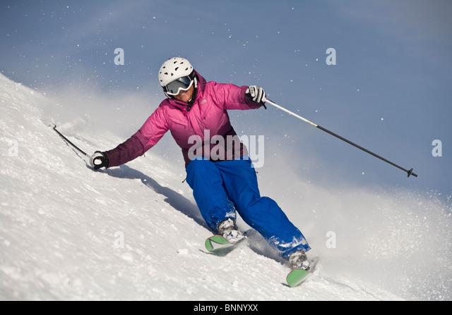 Flachau ski stock photos images alamy
