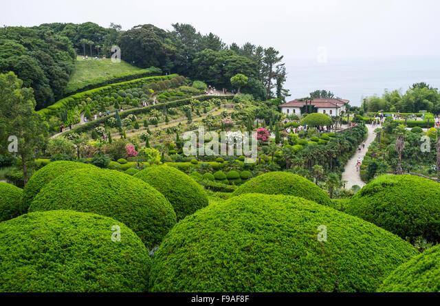 Garden On A Hill, South Korea.   Stock Image