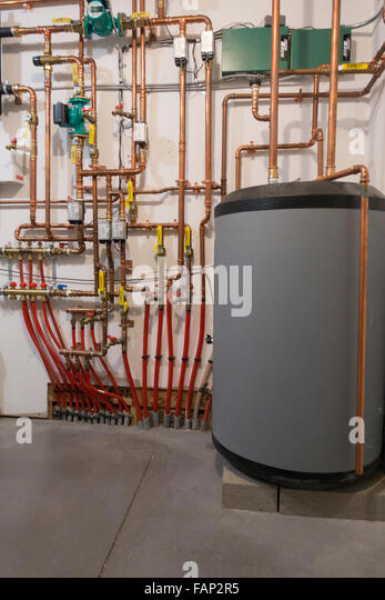 Floor heating stock photos floor heating stock images for Most economical heating systems for homes