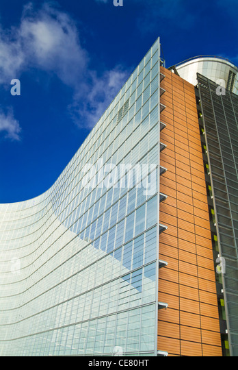 European commission buildings stock photos european commission buildings stock images alamy - European commission office ...