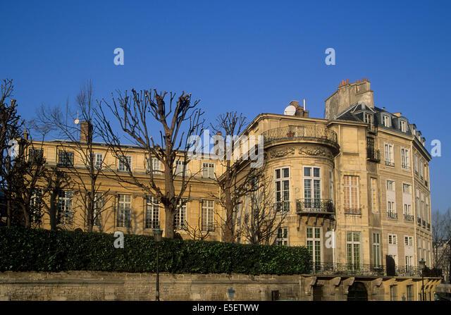 Quai danjou stock photos quai danjou stock images alamy - Hotel ile saint louis ...