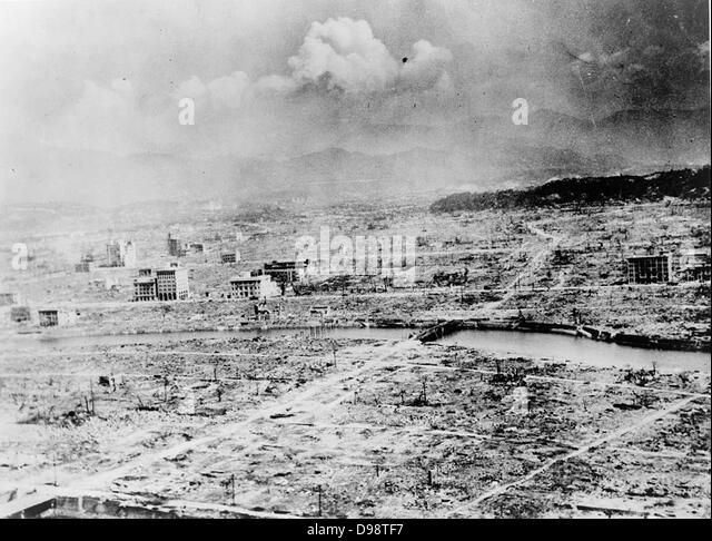 an analysis of the detonation over the city of hiroshima by the united states of america In 1939 physicists in the united states had learned of experiments in germany   first atomic bombsthe first atomic bomb was detonated on july 16, 1945, in the   then used on the japanese cities of hiroshima and nagasaki on august 6 and 9,   in japan, the us strategic bombing survey found the damage to urban.