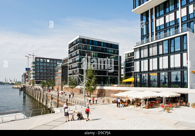 architecture at the hafencity stock photos architecture at the hafencity stock images alamy. Black Bedroom Furniture Sets. Home Design Ideas