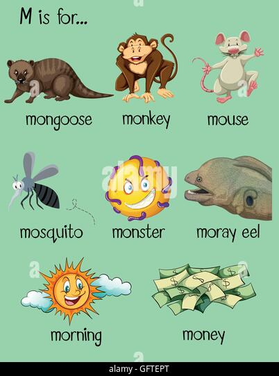 7 letter words starting with m many words begin letter illustration stock photos amp many 14715