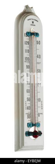 Scientific Measuring Instruments : Temperature gauge stock photos