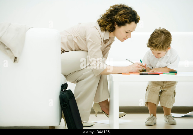 Woman Bending Over Table Stock Photos Amp Woman Bending Over