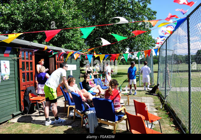 Summer Tennis Tournament At Home Park Lawn Club Windsor Berkshire England