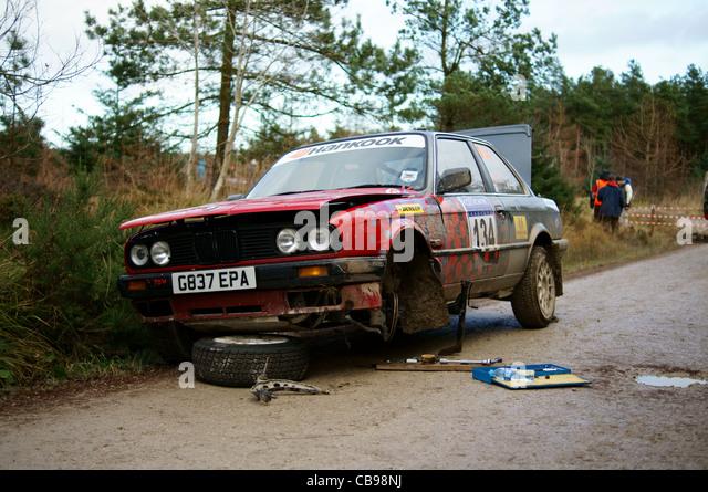 Bmw E30 Rally Car Stock Photos  Bmw E30 Rally Car Stock Images