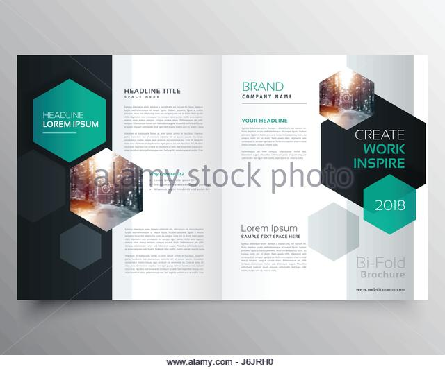 Company Business Cover Page Bifold Stock Photos & Company Business ...
