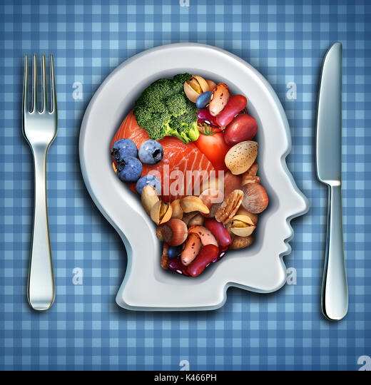 Brain food stock photos brain food stock images alamy for Fish and broccoli diet