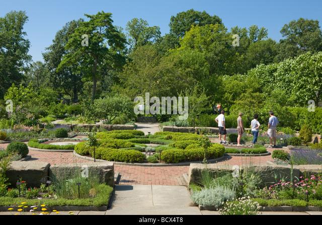 Cleveland Botanical Gardens Cleveland Ohio   Stock Image