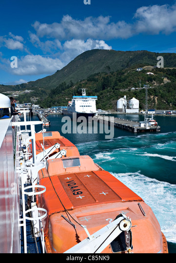 New Harbour Norfolk Island Shipping