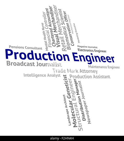 production engineer meaning fabrication words and producing stock image production engineering jobs