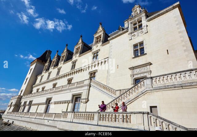 chateau de pau pau pyrenees atlantiques stock photos. Black Bedroom Furniture Sets. Home Design Ideas