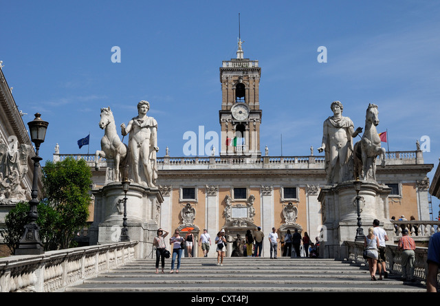 Capitoline Hill Coloring Page
