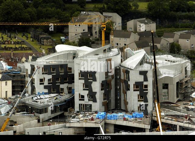 Scottish parliament aerial stock photos scottish for Parliament site